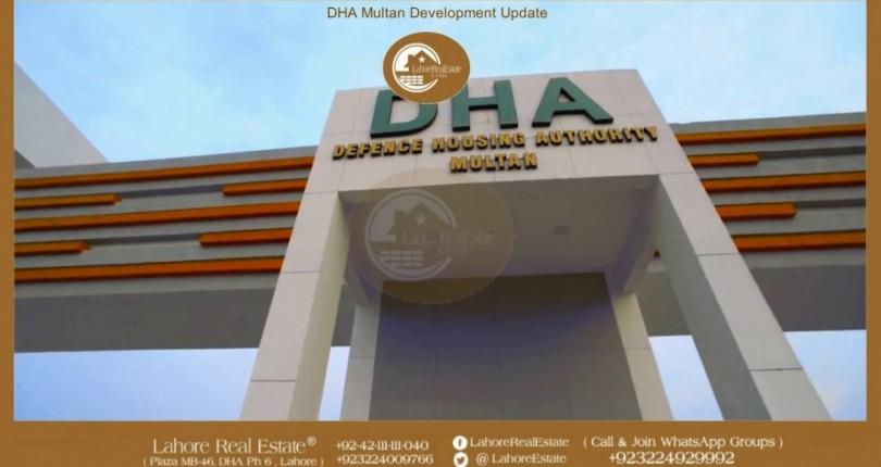 DHA Multan Booking Plan Detail By Lahore Real Estate