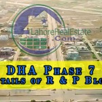 DHA Phase 7 Details of R & P Block