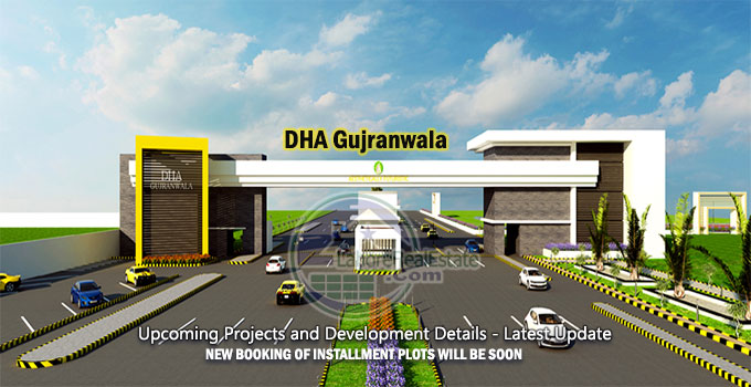dha gujranwala upcoming projects and development details latest