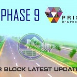 DHA Lahore Phase 9 Prism R Block Plot Prices Development Latest Update