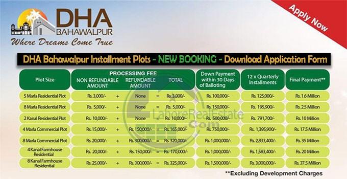 Download Application Form Dha Multan, Dha Bahawalpur Application Form 2019 Apply Online Installment Plots Payment Plan, Download Application Form Dha Multan