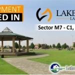 Development Started inLake City Lahore Sector M7 - C1 C2 C3 C4