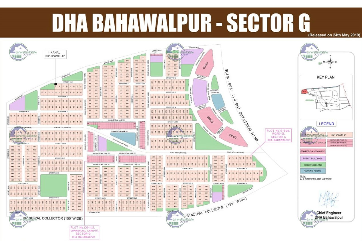 DHA Bahawalpur News   Plots on Installment, Location Map - Plot/File