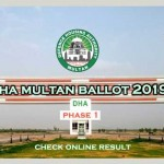 DHA Multan Balloting Result 2019 | How to Check Online
