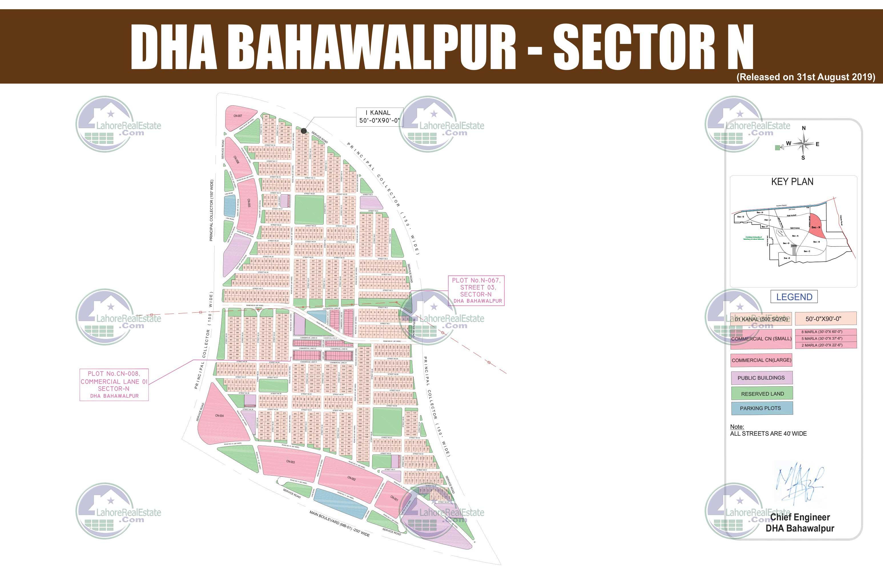 DHA Bahawalpur Sector H 10864 Page ID