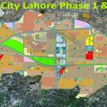 LDA City Lahore Phase 1 & Phase 2 Map