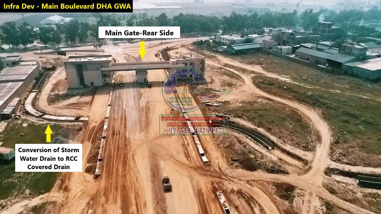 DHA Gujranwala Development Work Update June 2020 (2)