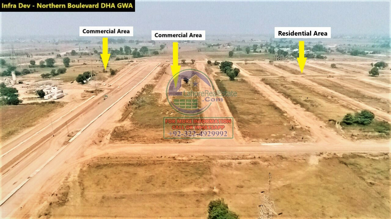 DHA Gujranwala Development Work Update June 2020 (3)