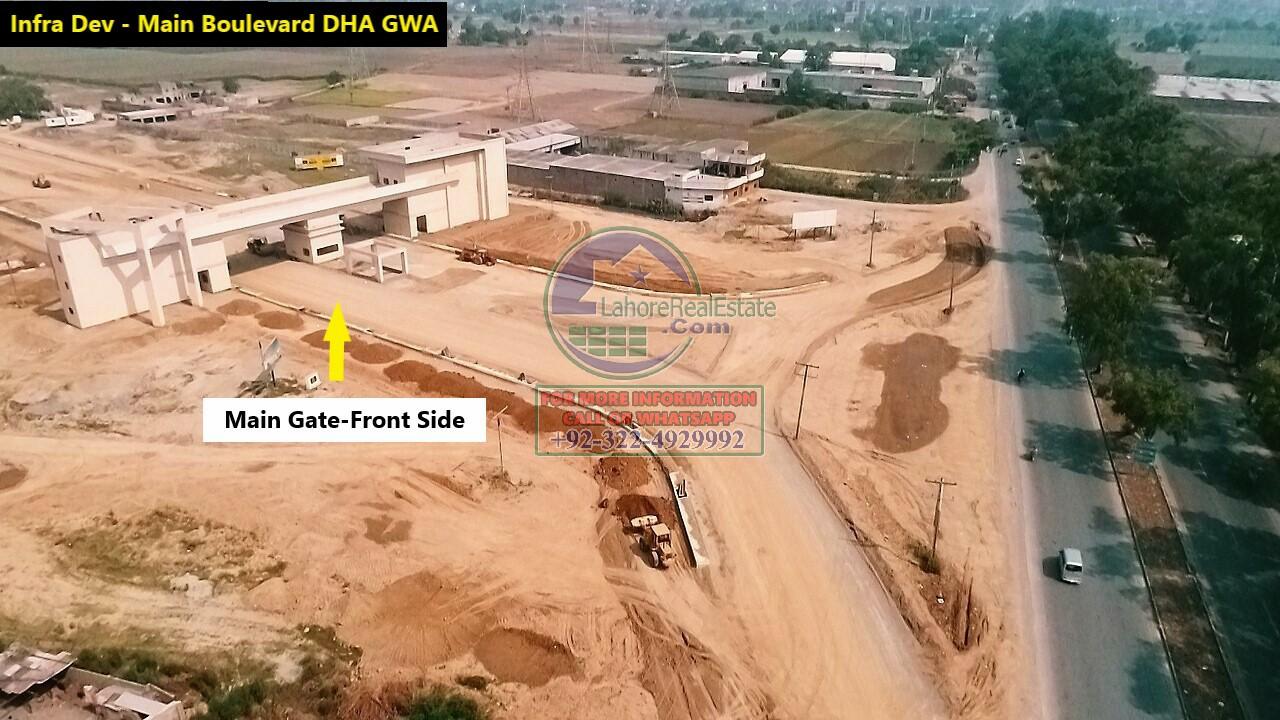 DHA Gujranwala Development Work Update June 2020 (4)