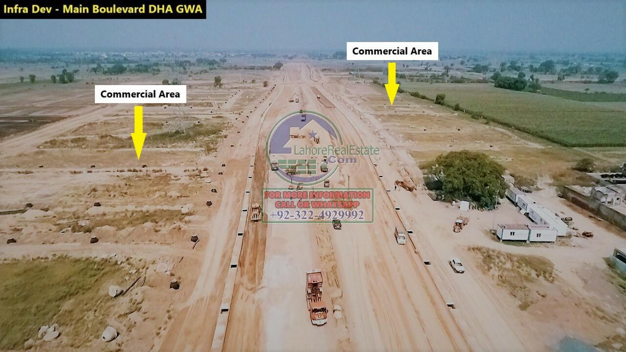 DHA Gujranwala Development Work Update June 2020 (5)