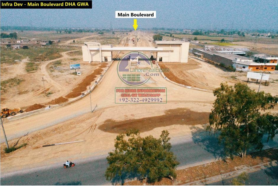 DHA Gujranwala Development Work Update June 2020 (6)